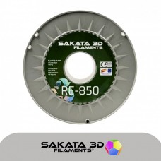 Filamento Profissional PLA Sakata 850 1Kg - Reciclável Cinzento