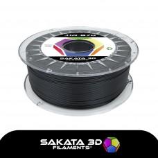 Filamento Profissional PLA Sakata 870 Alta Rest.1Kg - Preto