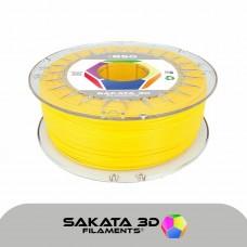 Filamento Profissional PLA Sakata 850 1Kg - Amarelo