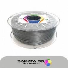 Filamento Profissional PLA Sakata 850 1Kg - Cinzento